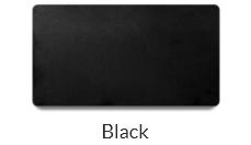 Plastic black name tags